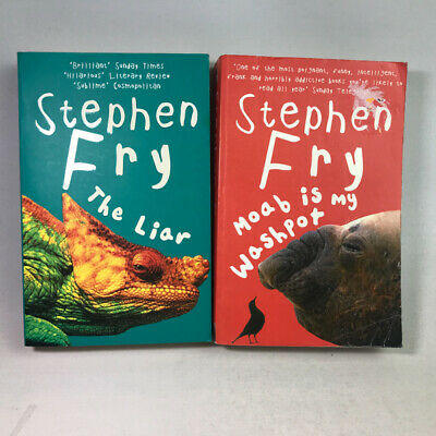 2 Stephen fry Books Bundle - The Liar & Moab is my Washpot