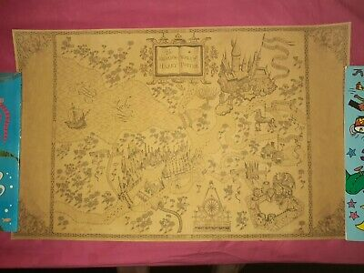 MAP OF THE Wizarding World of Harry Potter Poster Movie Vintage ...
