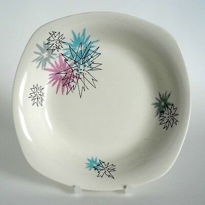 """Midwinter Pottery Quite Contrary 8"""" Bowls Coupe Soup Cereal Shallow Excellent A1"""