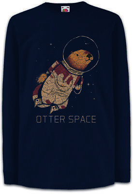 Otter Space Kids Long Sleeve T-Shirt Love Addicted Astronaut Fun Planet Planets
