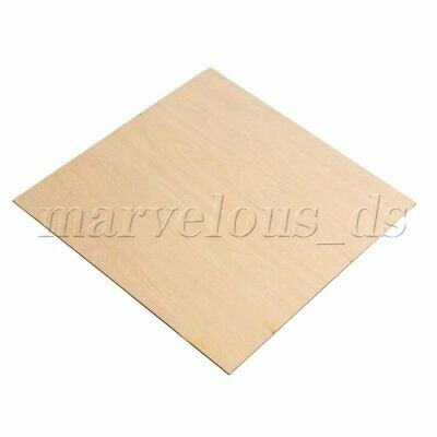 5pcs 1.5mm Thickness Unfinished Craft Basswood Wooden Sheets Woodworking for DIY