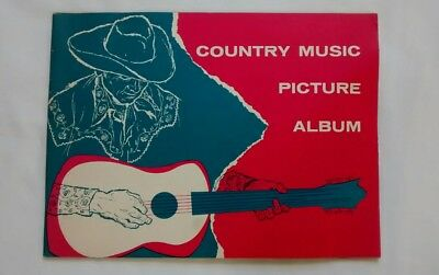 Vintage 1955 Country Music Picture Album 1950s Western