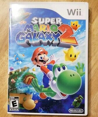 Super Mario Galaxy 2 (Nintendo Wii, 2010) Complete Tested Working CIB Authentic
