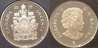 2019 Half-Dollar Coat Arms 50 Cent Proof Coin Canada Classic from D-Day Set