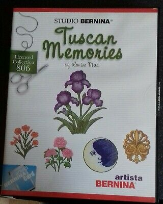 Studio Bernina Tuscan Memories Embroidery Card no Disc