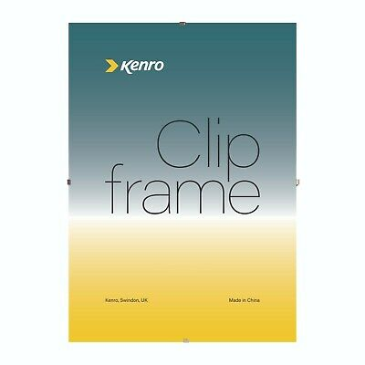 Kenro Glass Clip Frames for Pictures and Photos | Multiple Options