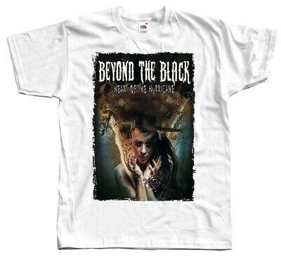 Beyond The Black Heart Of The Hurricane T shirt white 100% cotton sizes S-5XL