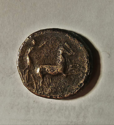 Greek (450 Bc-100 Ad) Arethusa #exp225 Hemilitron 415-405 Sizilien Syrakus Coins & Paper Money