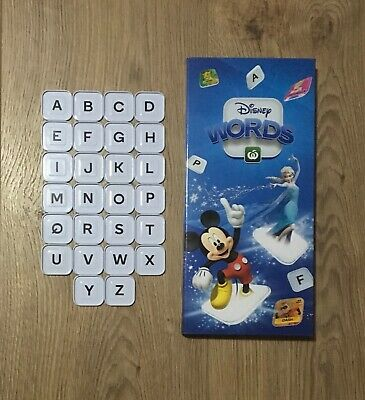 Woolworths Disney Words Tiles : LETTERS ( A-Z) TILES ONLY $2.50 each