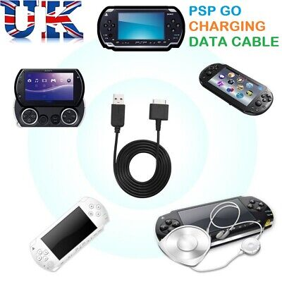 2 in 1 USB Power Charging Lead Data Sync Transfer Charger Cable for Sony PSP Go