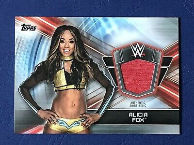Topps WWE Champions 2019, Authentic Shirt Relic, Alicia Fox