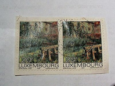 Job Lot Collection Old Vintage Luxembourg Stamps
