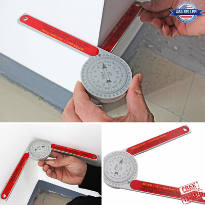Miter Saw Protractor for Carpenters Plumbers Building Trades Precise Operation