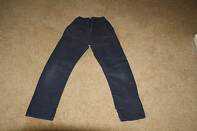 Boys Navy Blue slim Chinos age 8