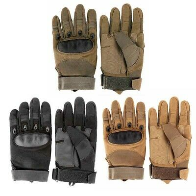 Men Outdoor Sports Gloves Tactical Military Gloves Rock Climbing Rubber Gloves
