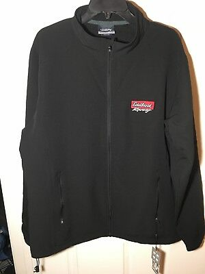 c16ffb5e New Men's Edelbrock Summit Racing Equipment Quilted Lined Black Jacket XL