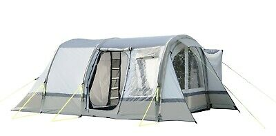 Inflatable Drive Away Campervan Awning - OLPRO Cocoon Breeze (Sage Green&Chalk)