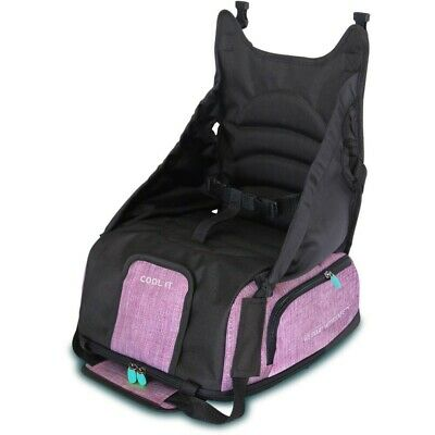 Apramo Multii Booster™ Mulberry Portable Travel Children's Kids Booster Seat