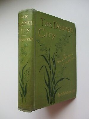 1885 Scarce First Edition~THE DOOMED CITY~REV CRAKE~TALE OF ANGLO-SAXON CONQUEST