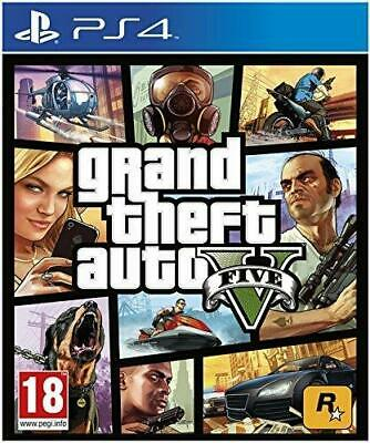 Grand Theft Auto V - GTA 5 PS4 (Sony PlayStation 4, 2014) - NEW FACTORY SEALED