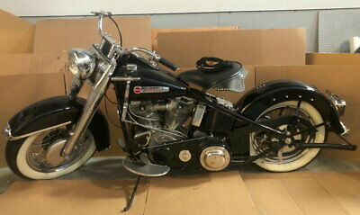 1950 Harley Davidson FL Pan with Hand Shift. 1950 Harley Davidson FL Pan with Hand Shift.