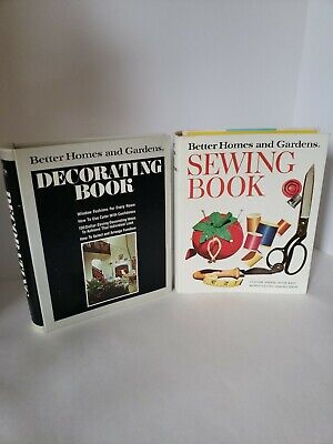 Vintage Better Homes & Gardens Sewing And Decorating Books