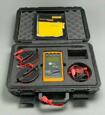 Fluke 1621 Earth/Ground Tester, Excellent condition, Hard Case