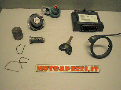 Piaggio Liberty 125 150 kit serrature centralina cdi ecu cudifica MOTOAPEZZI.IT
