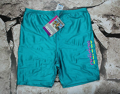 ADIDAS _ NEW VINTAGE _ SWIMMING TRUNKS XS _ rare 90's !!  MADE IN ITALY _