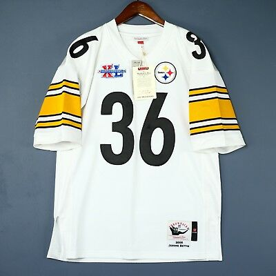 90be555c0ab 100% Authentic Jerome Bettis Steelers Mitchell Ness NFL Jersey Size 36 S  Mens