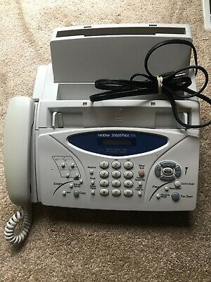 Brother Intellifax 775 Plain Paper Fax with Phone & Copier - Fast Shipping