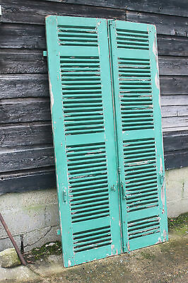 French chateau shutters,louvres doors,Antique double doors,Shop display shutters