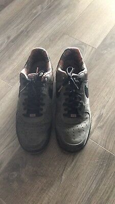 9a9aebff926 Nike Air Force One AF-1 Midnight Fog black Low Size 12 2012 Release453419