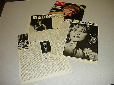 *Aa023 Madonna '1987 Belgian Clipping