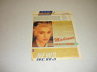 *Aa014 Madonna  French Clipping