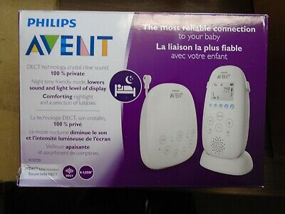 BRAND NEW Philips Avent Dect Audio Baby Monitor SCD720/86 NEW MODEL