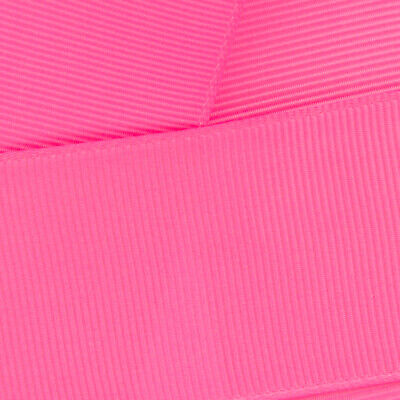 Hot Pink Grosgrain Ribbon HBC 156 - HairBow Center (USA company)