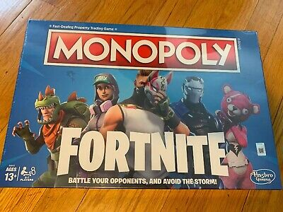 BRAND NEW SEALED Monopoly Fortnite Edition Board Games Video Game Hasbro