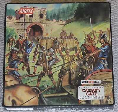 airfix 1/72 toy soldiers model kits ho oo caesars gate romans britons cat 1720