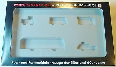WIKING Edition 2002 PMS 80-06 leere Box Schachtel Set Packung POST MUSEUMS SHOP