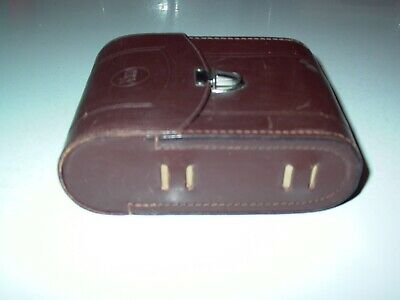 Strap Cameras & Photo Binocular Cases & Accessories Shop For Cheap Vintage Swiss Made Kern Aarau Brown Leather Binoculars Case Med Homa