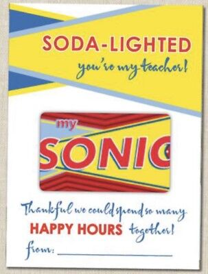 Sonic Physical Gift Card $100