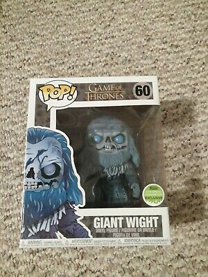 GIANT WIGHT - Game of Thrones Funko Pop - 2018 Spring Convention Exclusive  ECCC