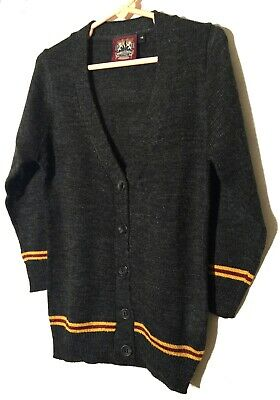 Gryffindor Cardigan Button down Knit Sweater HARRY POTTER Unisex Men Women Youth