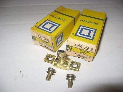 Square D Overload Relay Thermal Unit 58534dh  A4.79 lot 2 1-a4.79