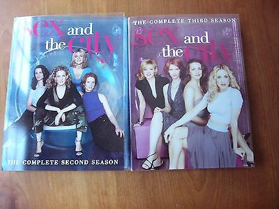 Sex & the City Complete Second & Third Seasons  DVD