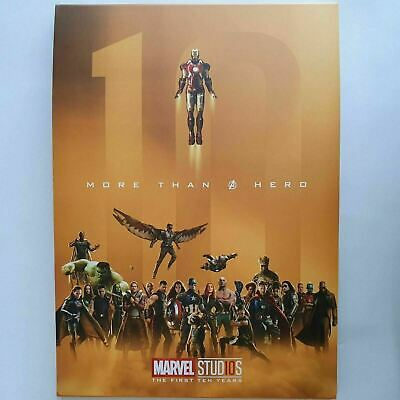 Marvel Avengers More Than a Hero Gold Posters A4 Size 32pc  Endgame MCU
