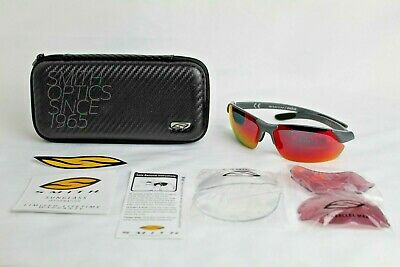 7e387ec2360eb Smith Optics Parallel Max Men s Sunglasses Interchangeable Hydrophobic  Lenses