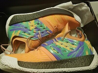 new styles 996c4 b23a3 Adidas Men s Harden Vol. 2 California Dreamin Coral Boost Shoes Size 13 ( AH2219)