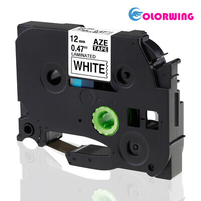 TZe231 Compatible for Brother P Touch Label Maker tape TZ 12mm 1/2' PTD210 white
